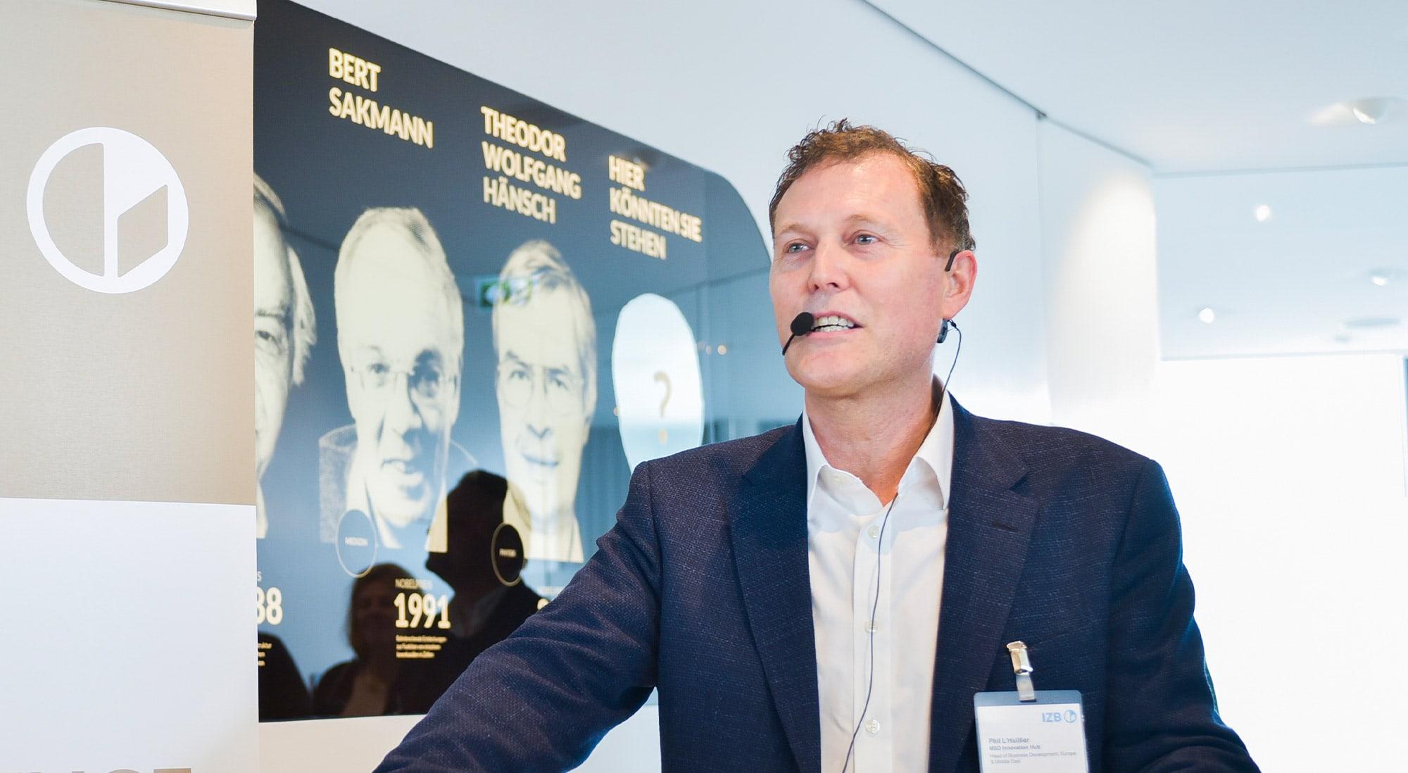 Dr. Phil L'Huillier Wird CEO Von CatalYm
